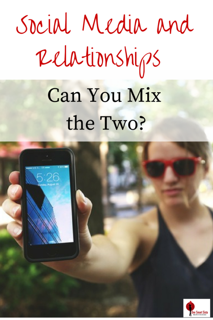 Social media and your relationship. Can you really mix the two? Here are a few tips on how to do so and save your relationship.