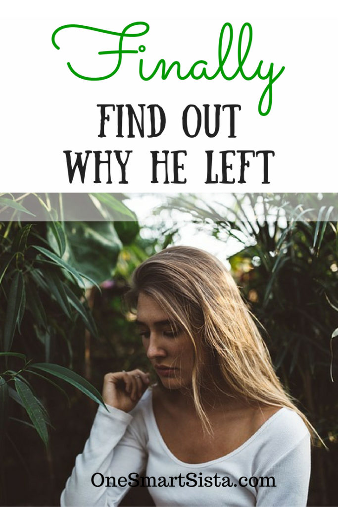 Finally find out why he left and get closure. Be able to move on to your next relationship and learn from your ex.
