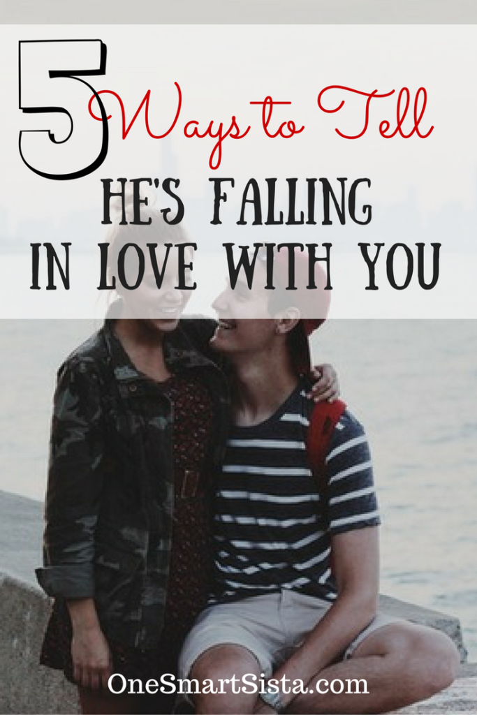 How to tell if he's falling in love with. Five ways to tell if he's into you or not.